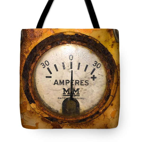 Mm Amperes Gauge Tote Bag