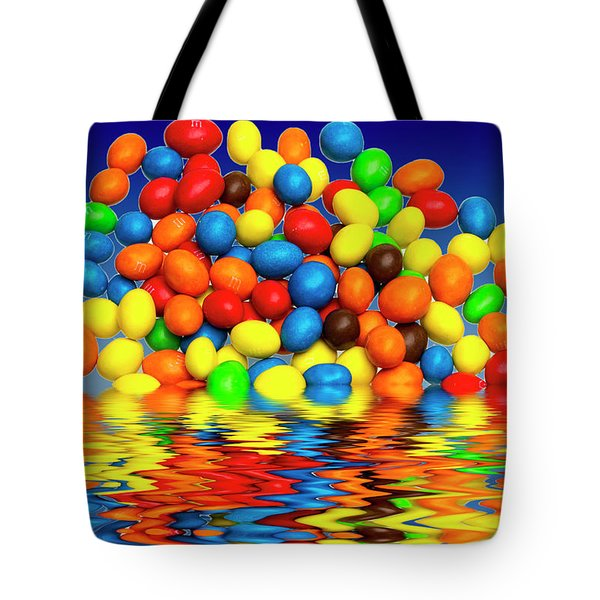 Tote Bag featuring the photograph Mm Chocolate Sweets by David French