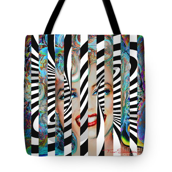 Mmother Of Pearl Sis 3 Tote Bag