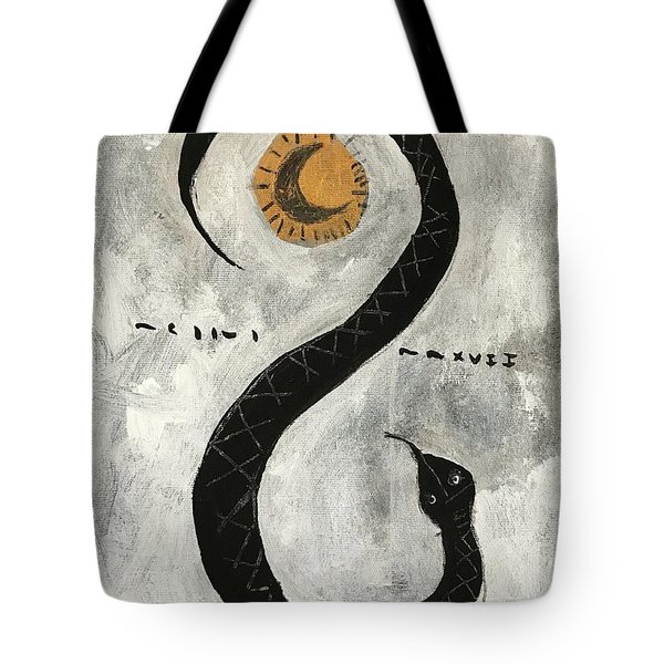 Mmxvii Life And Immortality No 10  Tote Bag
