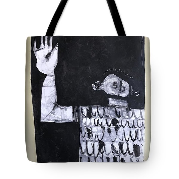 Mmxvii Surrender Tote Bag