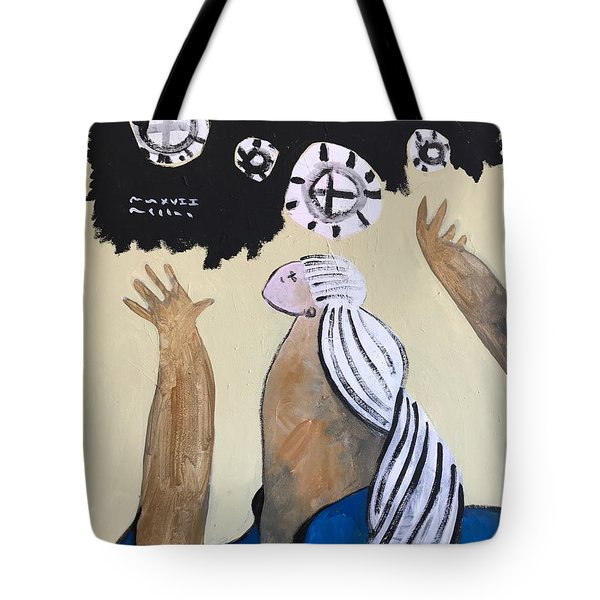 Mmxvii The Ascension No 4 Tote Bag