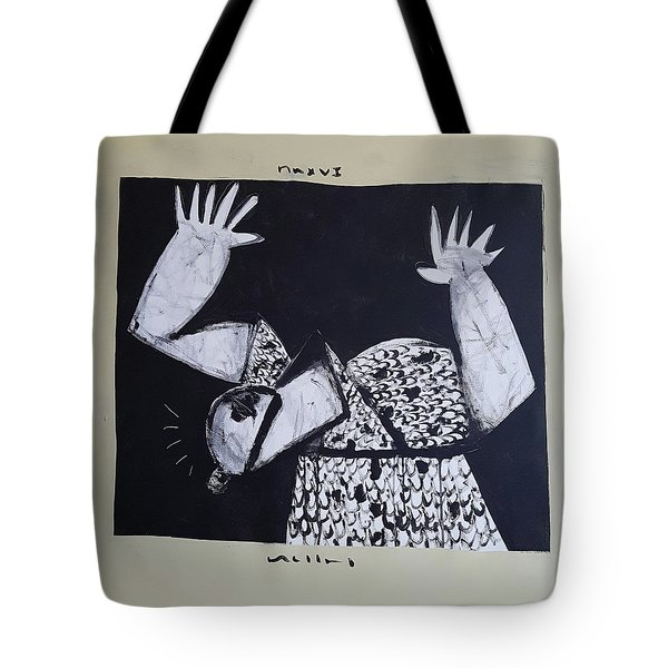 Mmxvii Warning  Tote Bag