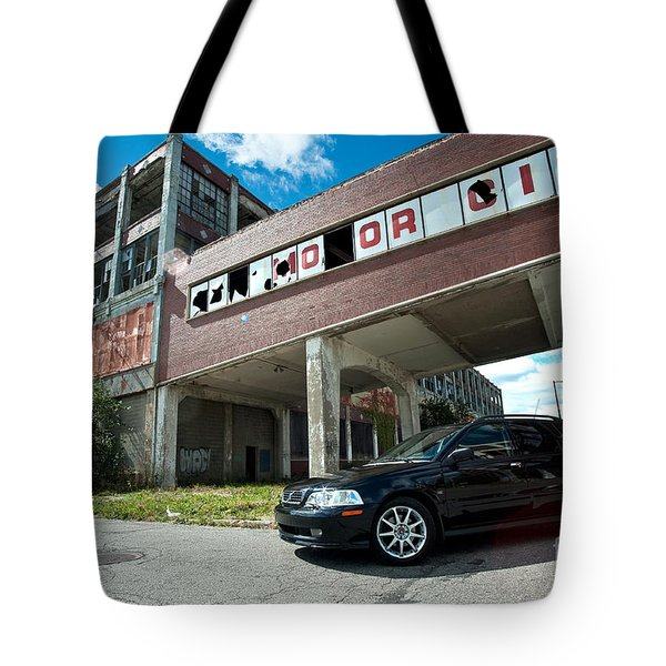 Mo Or City Tote Bag