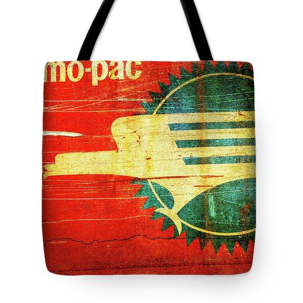 Mo-pac Caboose  Tote Bag by Toni Hopper