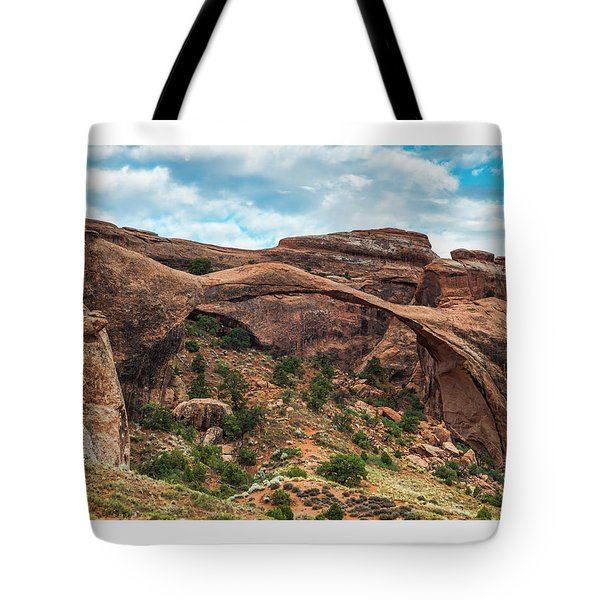 Moab Arch 28x22 Tote Bag