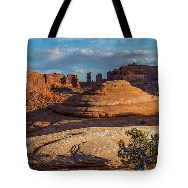 Moab Back Country Panorama Tote Bag