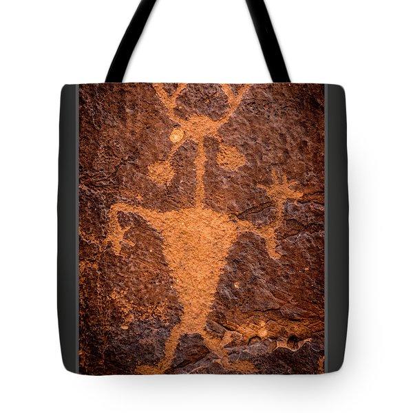 Moab Man Poster Tote Bag by Gary Whitton