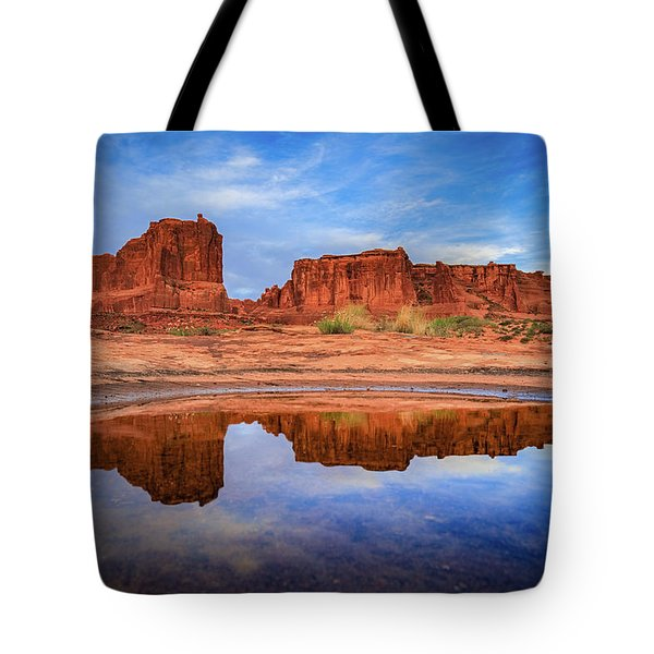 Moab Reflections Tote Bag