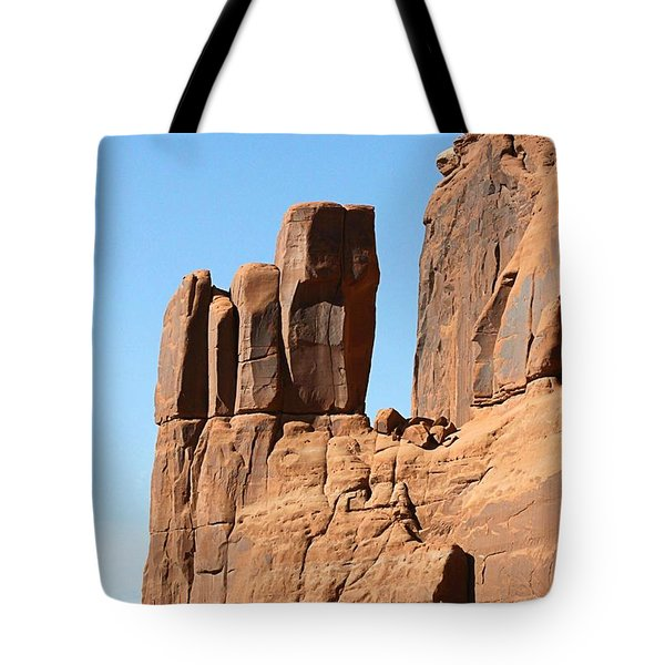 Moab Rocks Tote Bag