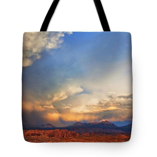 Moab Sunset Tote Bag