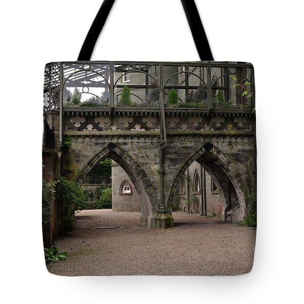 Moat At Inveraray Castle In Argyll Tote Bag