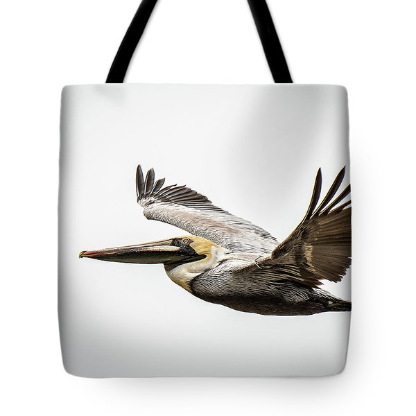 Mobile Bay Pelican Tote Bag