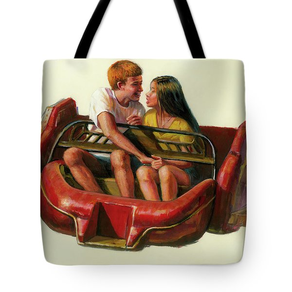 Mobile Manners Tote Bag