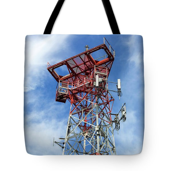 Mobile Phone Cellular Tower Tote Bag