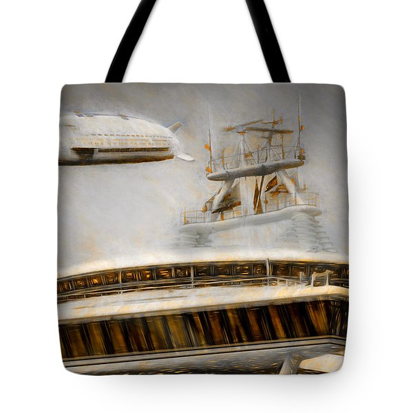 Moby Air Tote Bag by Michael Cleere
