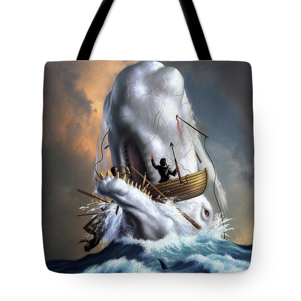 Moby Dick 1 Tote Bag