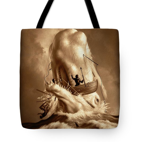 Moby Dick 2 Tote Bag