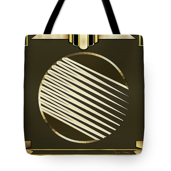 Mocha 1 - Chuck Staley Tote Bag by Chuck Staley