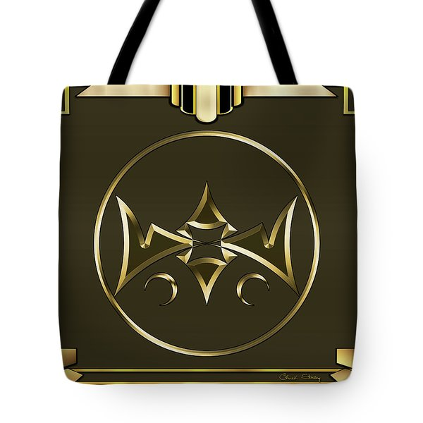 Tote Bag featuring the digital art Mocha 2 - Chuck Staley by Chuck Staley