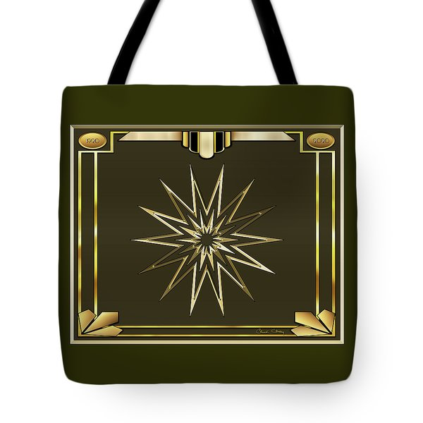 Tote Bag featuring the digital art Mocha 3 - Chuck Staley by Chuck Staley