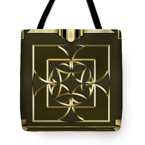 Tote Bag featuring the digital art Mocha 4 - Chuck Staley by Chuck Staley