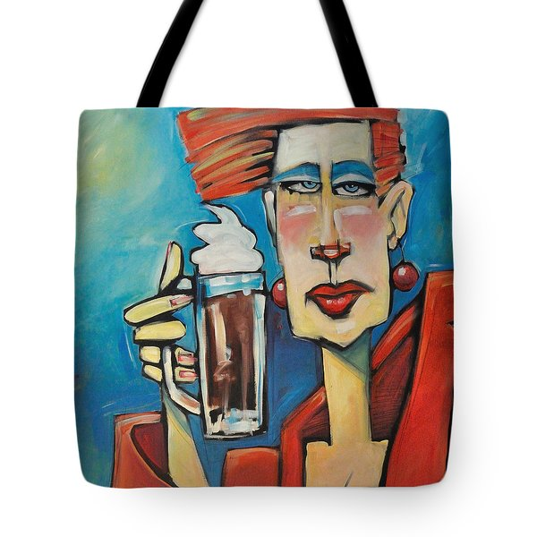Mocha Double Shot Tote Bag by Tim Nyberg