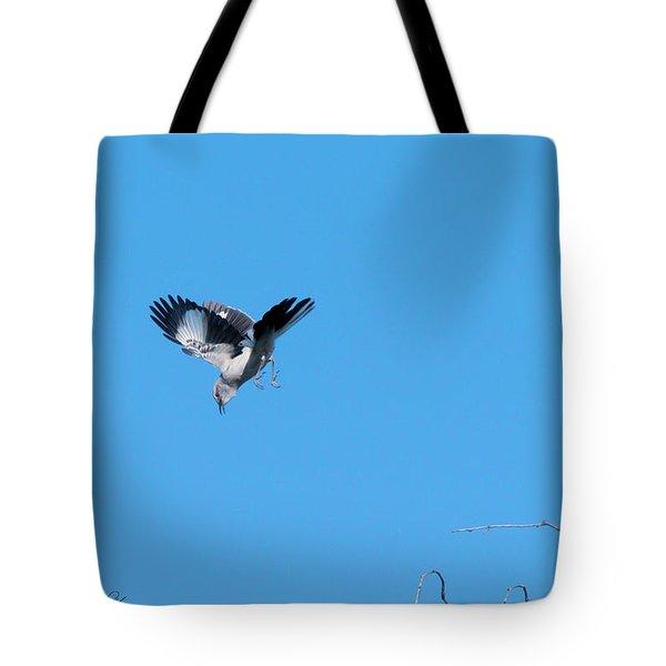 Mockingbird Down Tote Bag