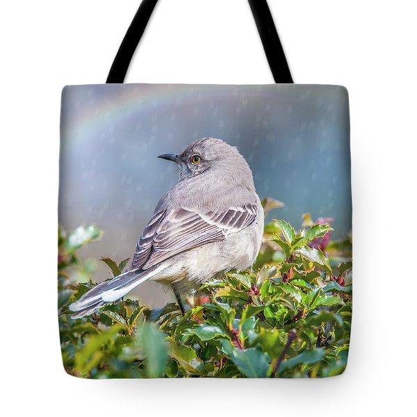 Mockingbird Rainbow Tote Bag