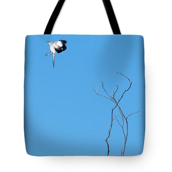 Mockingbird Up Tote Bag