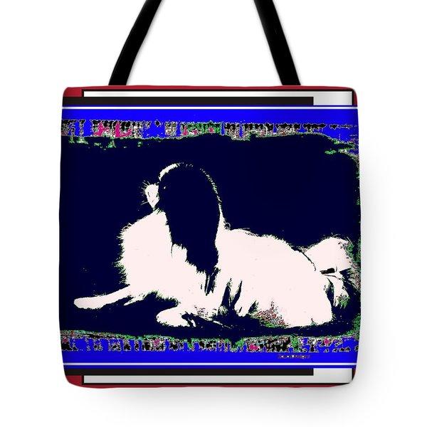 Mod Dog Tote Bag by Kathleen Sepulveda