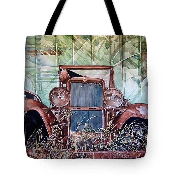 Model A Tote Bag by Lance Wurst