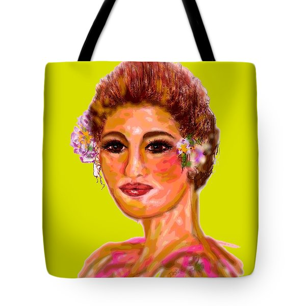 Model Mode Tote Bag