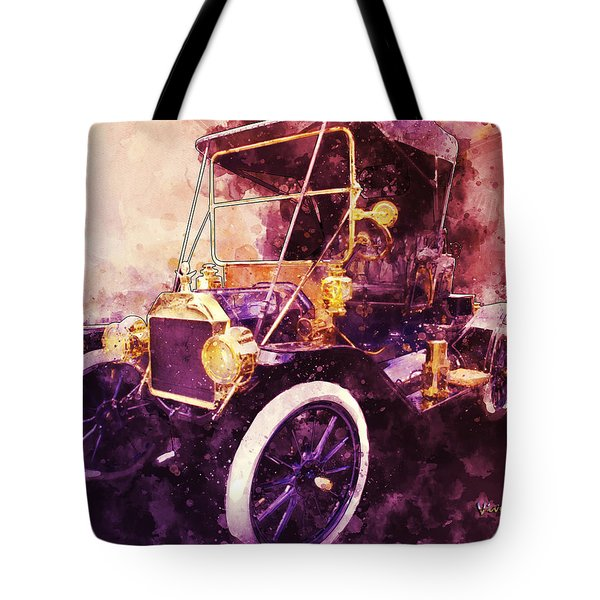 Model-t Commercial Roadster Tote Bag