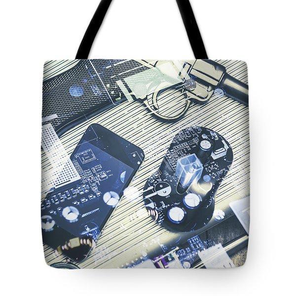 Modern Agency Warfare Tote Bag