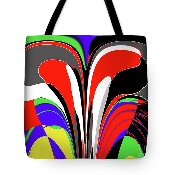 Modern Art Tote Bag by Methune Hively