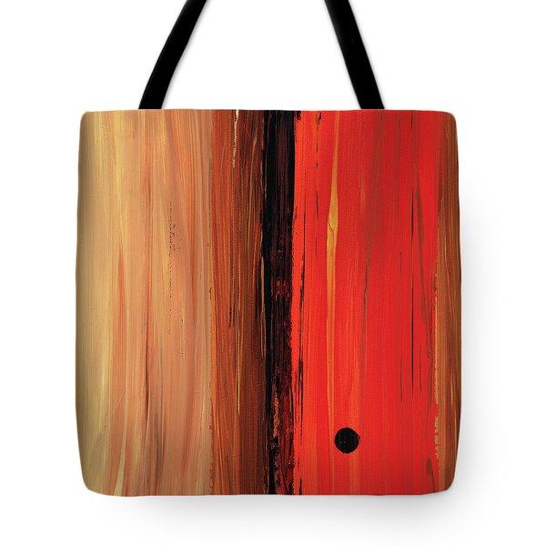 Modern Art - The Power Of One Panel 1 - Sharon Cummings Tote Bag by Sharon Cummings