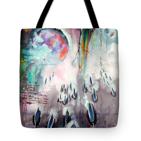 Modern Art Travel Log 04 Dec 8 2017 Tote Bag