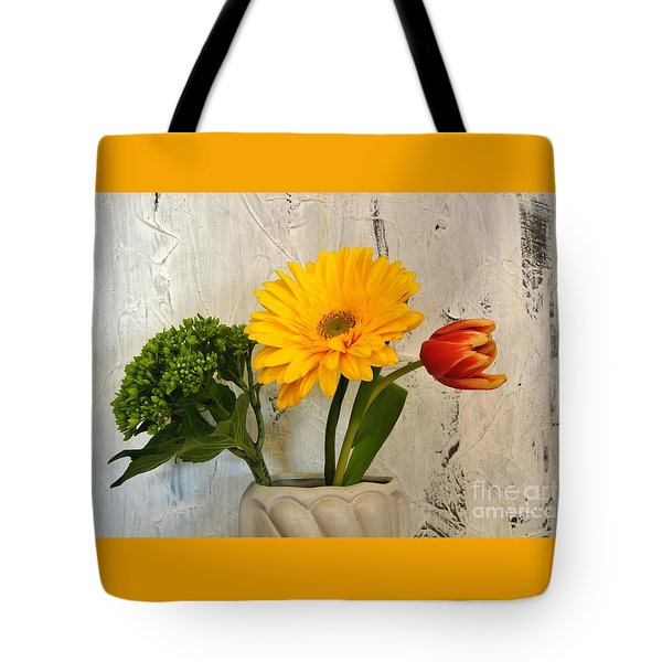 Tote Bag featuring the photograph Modern Bouquet by Marsha Heiken