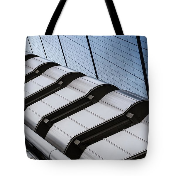 Lloyds Building Bank In London Tote Bag by John Williams