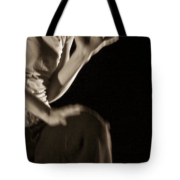 Tote Bag featuring the photograph Modern Dance 12 by Catherine Sobredo