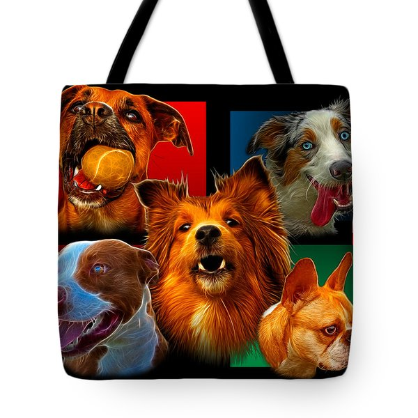 Modern Dog Art - 0001 Tote Bag