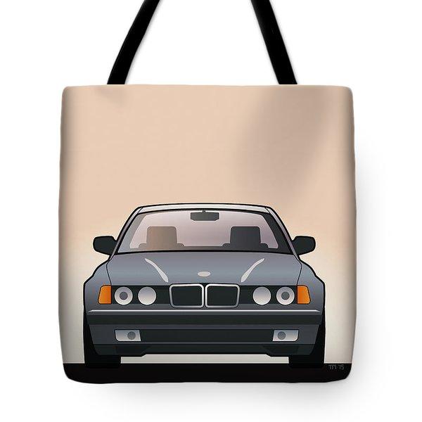 Modern Euro Icons Series Bmw E32 740i  Tote Bag