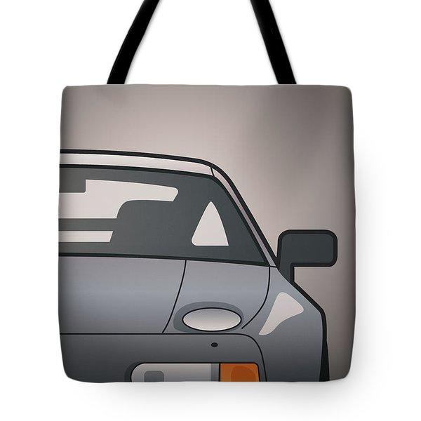 Modern Euro Icons Series Porsche 928 Gts Split Tote Bag