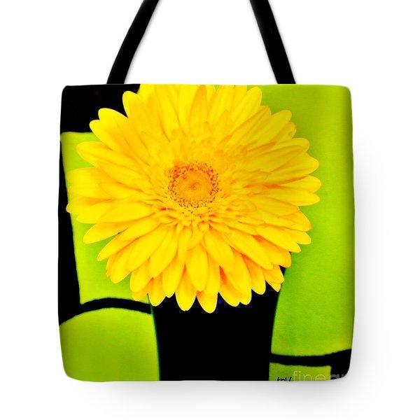 Modern Gerber Tote Bag