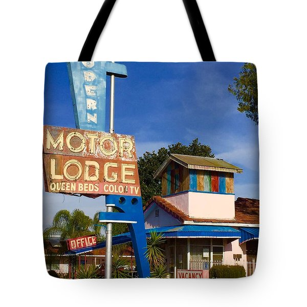 Modern In Lodi Tote Bag