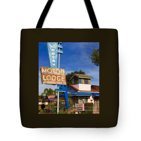 Modern In Lodi Tote Bag