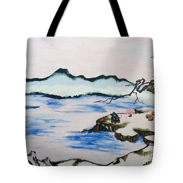 Modern Japanese Art In The Shadow Of The Past - Utsumi And Kano School Tote Bag by Sawako Utsumi