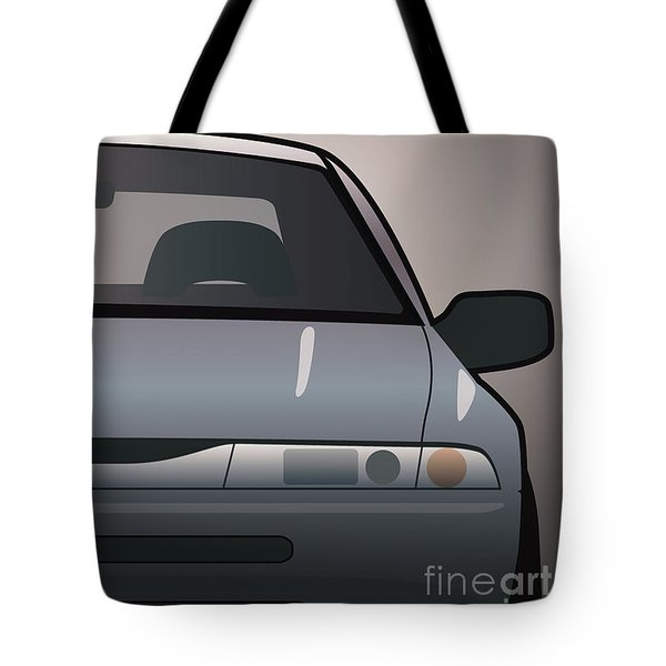 Modern Japanese Icons Subaru Alcyone Svx Split Tote Bag