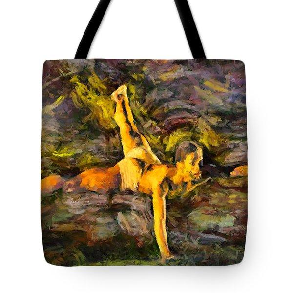 Modern Jazz Tote Bag